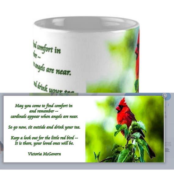 Coffee Mug - Ceramic - Cardinal - 11oz