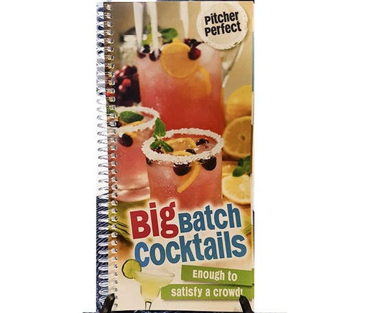 Cookbook - Big Batch Cocktails Book 7070