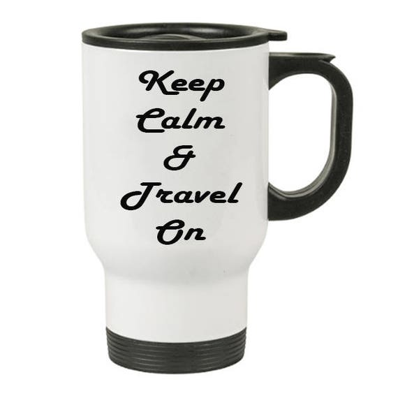 Travel Mug - Stainless Steal - 14oz