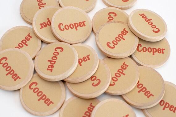 Birthday Stocking Filler Gift I Love Your Bum Badge Magnet Back