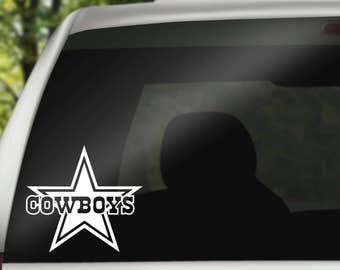 Cowboys car decal  43985f078