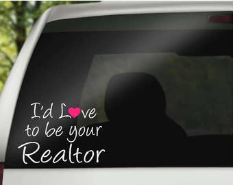 Realtor Decal