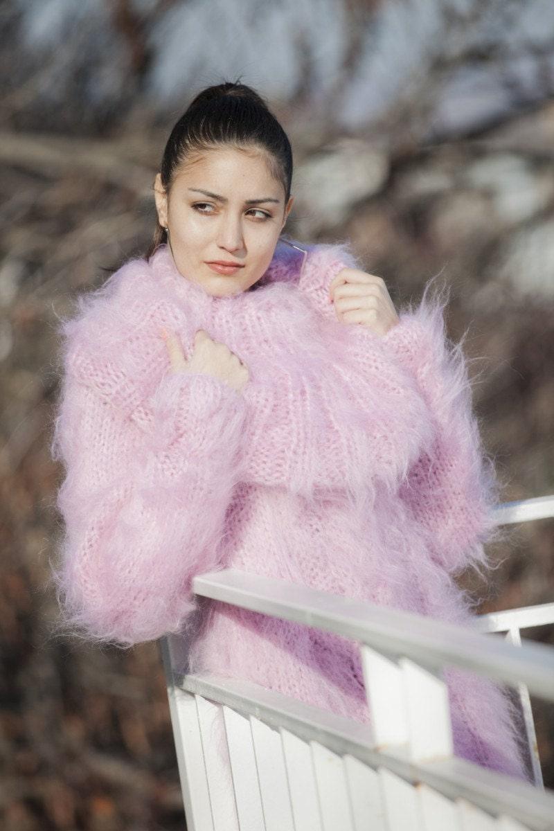 3bc361c087 Pink Mohair Dress