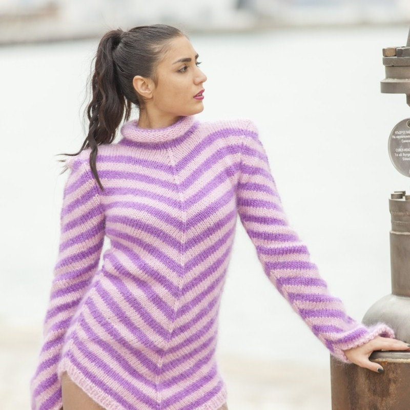8d491409226a Striped Mohair Sweater