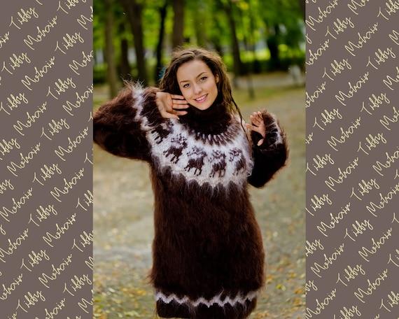 Christmas Icelandic Sweater T160