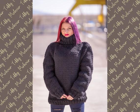 6fbf75dee 100 % Soft Wool Sweater Raw Wool Sweater Hand Knit Jumper