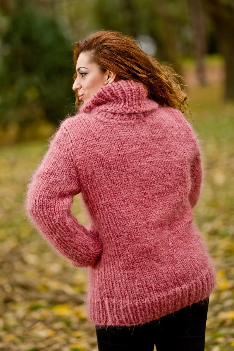 sweater domination Mohair
