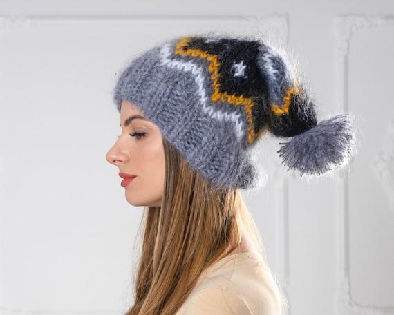 Icelandic Mohair Hat, Winter Hat T1013