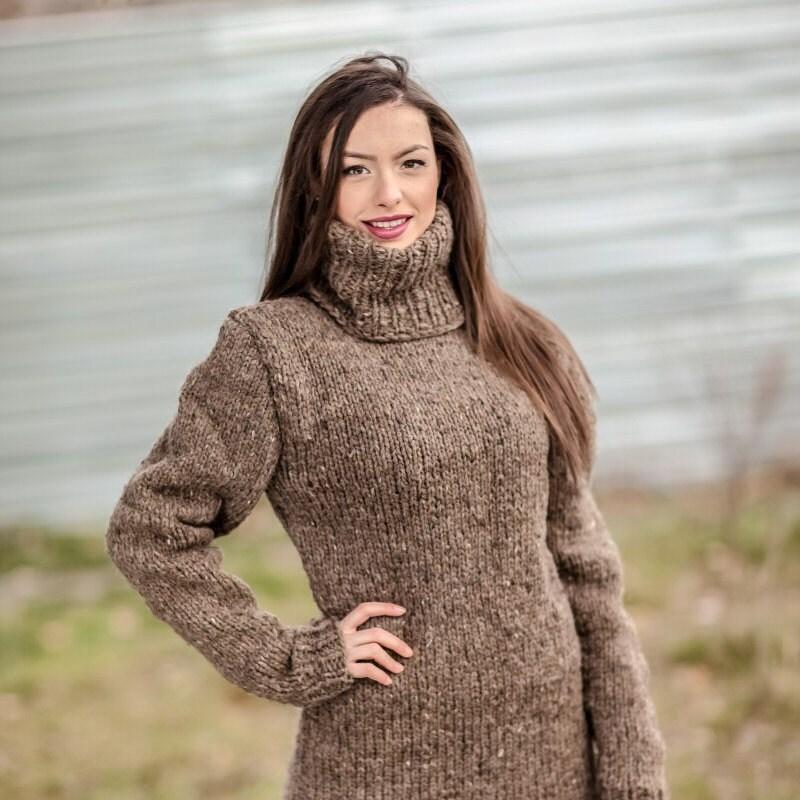 33d672b77e7 Raw Wool Sweater