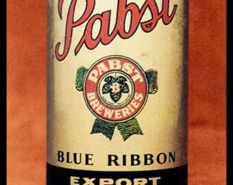 Canvas Art Poster 18x 24 Du Bois Budweiser 1968 Beer Cans