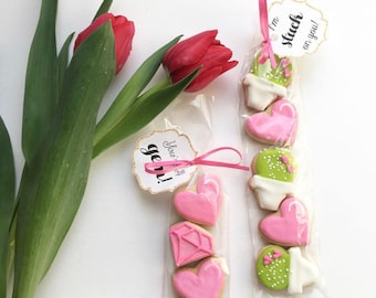 Mini Valentines Day Cookie Sets
