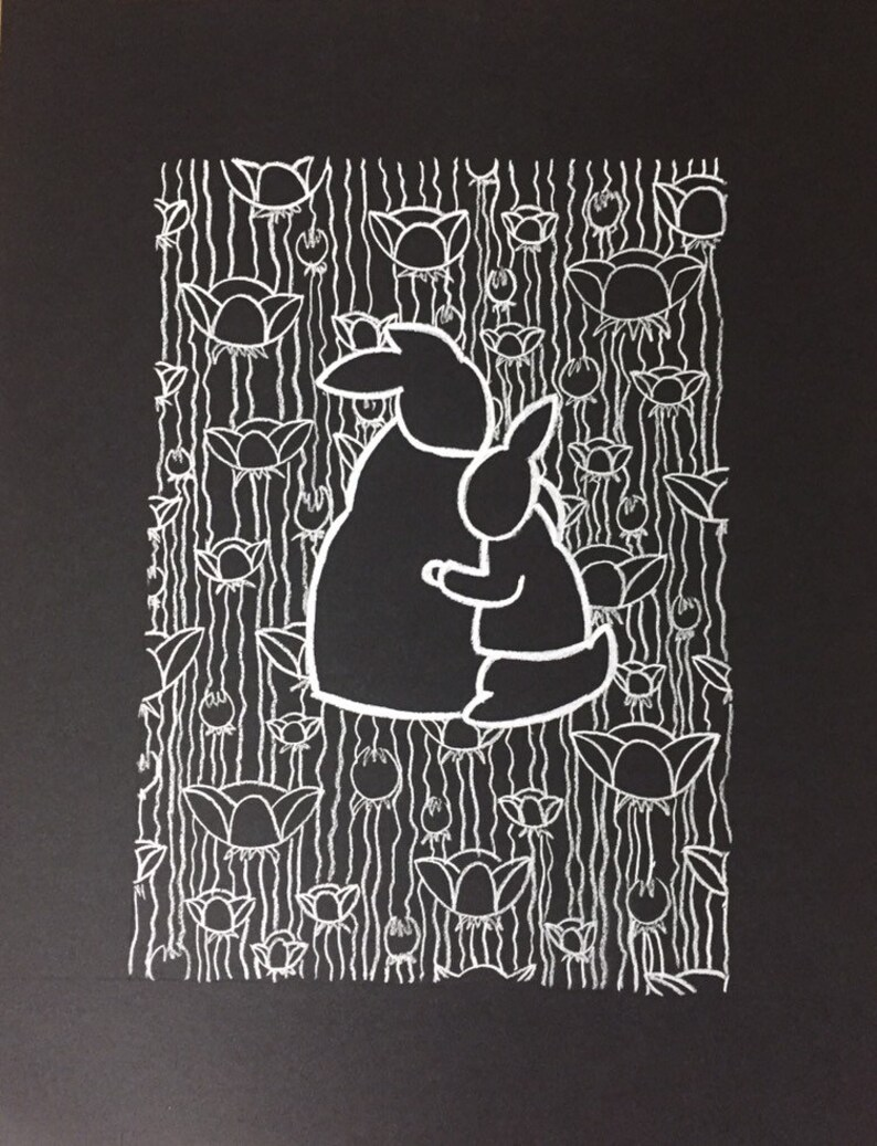 Custom Black and White Art Print