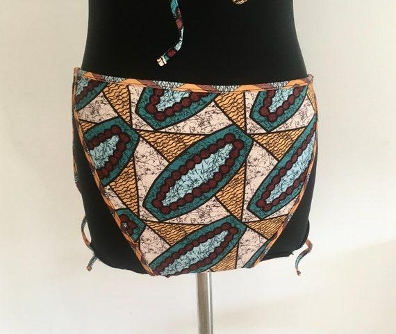 Ethnic bikini / printed bikini / triangle bikini … - image 4