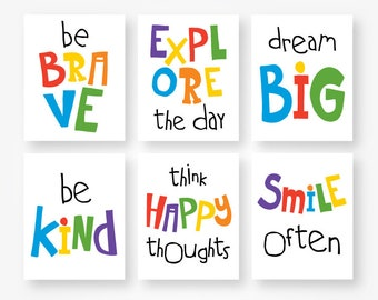 Black and white quotes kids download motivational kids room ...