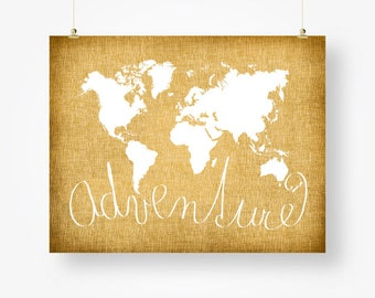 World map digital download neutral grey and white world map etsy world map tan brown adventure poster download world map digital print tan brown wall decor adventure sign large world map pdf for him gumiabroncs Images