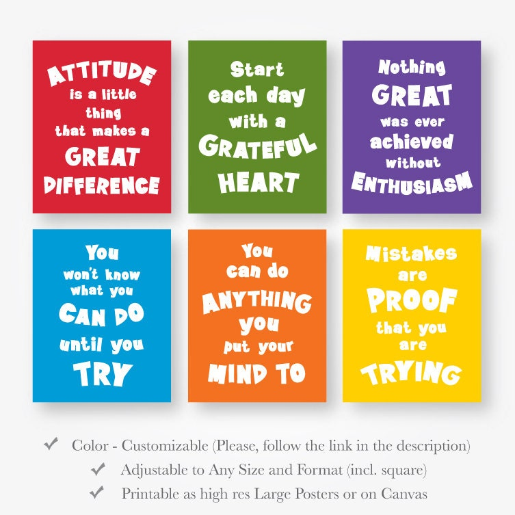 Download Motivational Image: Inspirational Quotes For Kids Download Printable