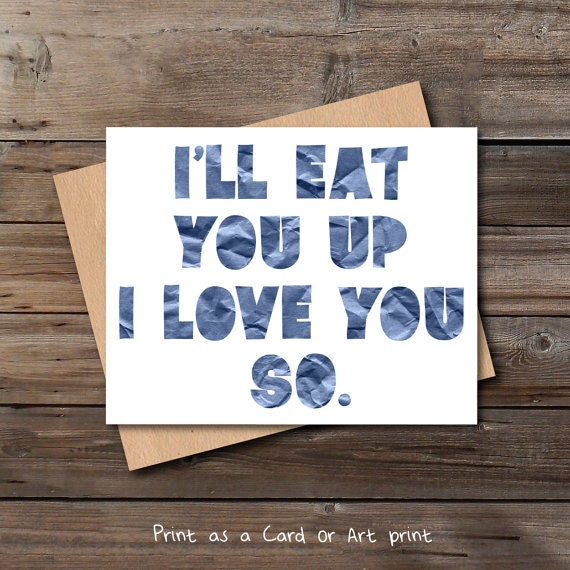 love card printable download navy blue boy nursery quote wall art decor jpg  pdf card for him her printable digital print instant download