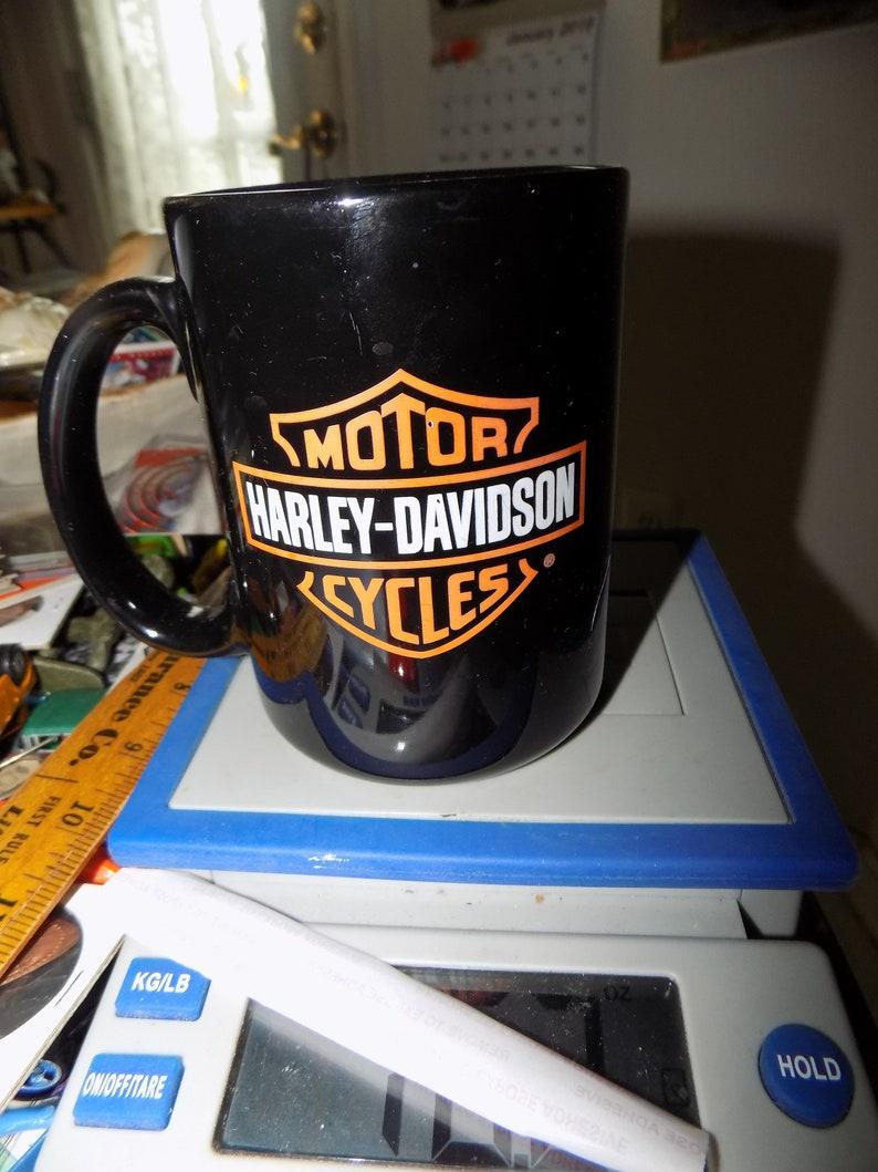 See Mug Nice Vintage Shape Coffee Davidson Harley In Pic 1KlFJcT