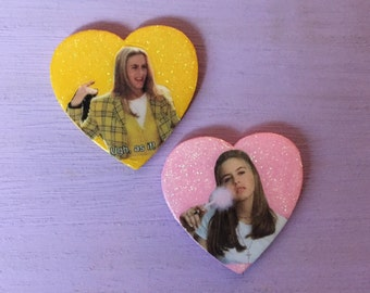 CHER HOROWITZ: pins or magnets