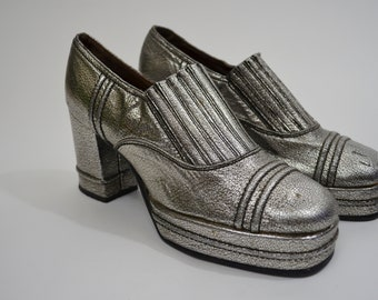 70s Moon Shoes Etsy