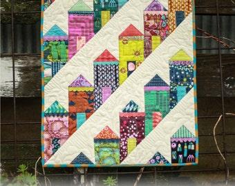 Fierce Ladies Mini Quilt Pattern