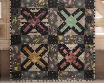 Fierce Exhibit Mini Quilt Pattern