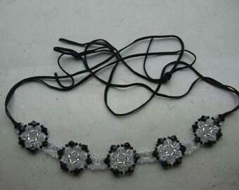 Flower Swarovski Elements Collar