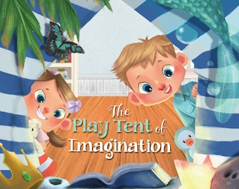 The Play Tent of Imagination. Soft Cover Book by Sarah Jagger Founder of Domestic Objects