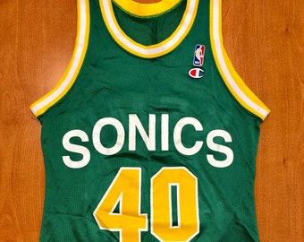 quality design f839d 11850 Vintage 1990s Patrick Ewing Seattle Supersonics Authentic | Etsy
