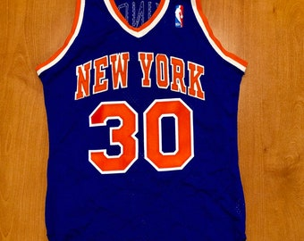 f2b0684a8 Vintage 1982 - 1987 Bernard King New York Knicks Sand Knit Jersey Size 36  shirt charles oakley penny hardaway latrell sprewell 40 champion