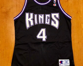 2a482e3c6934 Vintage 1998 - 1999 Chris Webber Sacramento Kings Champion Jersey Size 40  jason williams mitch richmond bobby hurley jackson marvin bagley