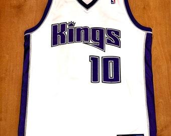 873e83759119 Vintage Mike Bibby Sacramento Kings Authentic Reebok Jersey Size 40 champion  grizzlies jason williams mitch richmond bobby hurley jackson