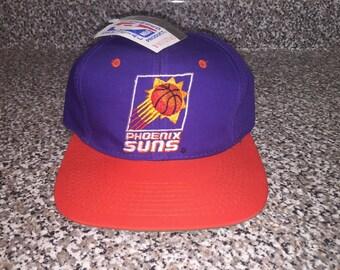 100% authentic 82eca 77a01 Vintage 1990s Phoenix Suns Snapback Hat sports specialties starter script charles  barkley cedric ceballos penny hardaway nba finals shirt