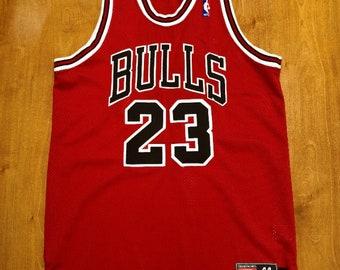 2af9f2b399a9 Vintage 1998 Michael Jordan Chicago Bulls Authentic Nike Jersey Size 44 nba  finals shirt scottie pippen air jumpman champion wizards bullets