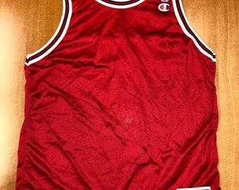 1741936bb Vintage 1995 - 1998 Chicago Bulls Blank Champion Jersey Size 40 nba finals  hat shirt scottie pippen authentic michael jordan elton brand