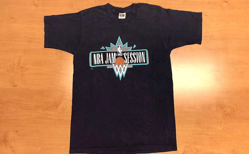 34c7bfbceb0a94 Vintage 1998 NBA Jam Session All Star Game T-Shirt tee jersey