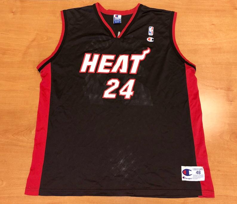 9a2dde893df Vintage 1990s Jamal Mashburn Miami Heat Champion Jersey Size | Etsy