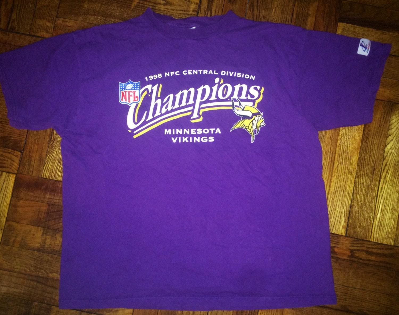 ad68d1269 Vintage 1998 Minnesota Vikings T-Shirt jersey randall