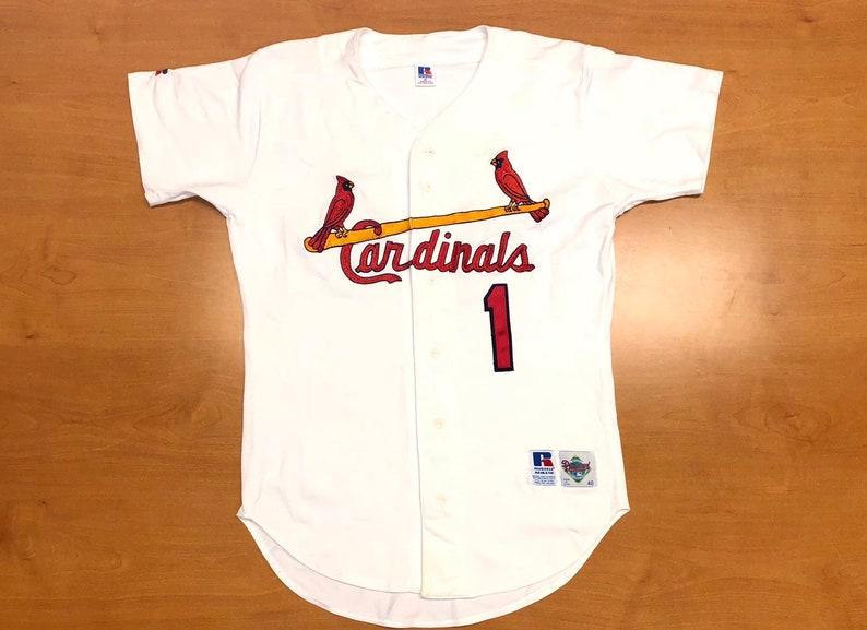 26800d0e2 Vintage 1992 1996 Ozzie Smith St. Louis Cardinals Authentic