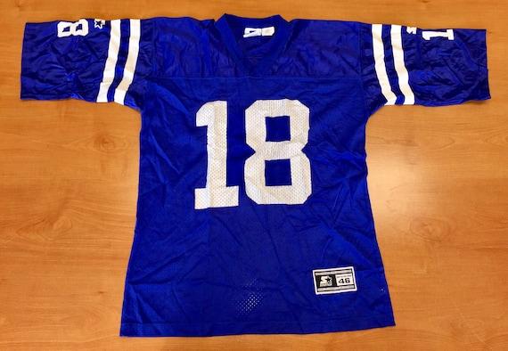 9487b8bec Vintage 1998 Peyton Manning Indianapolis Colts Starter Jersey
