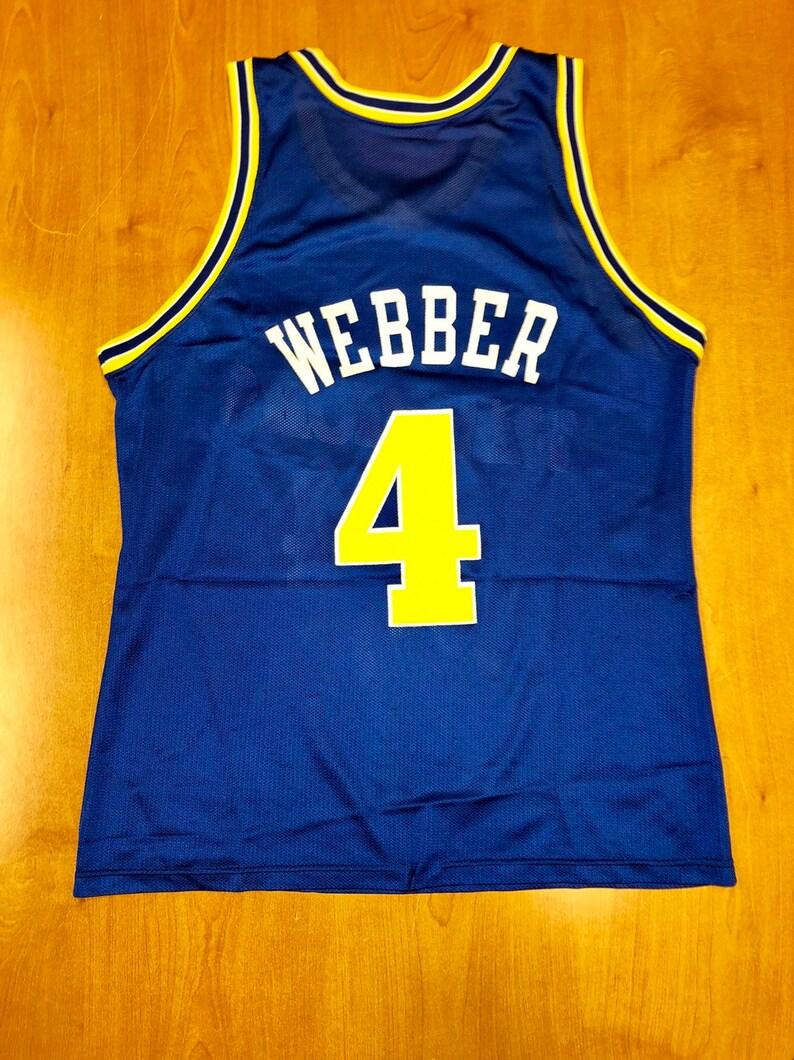 19fd35b78ce Vintage 1993 1994 Chris Webber Golden State Warriors