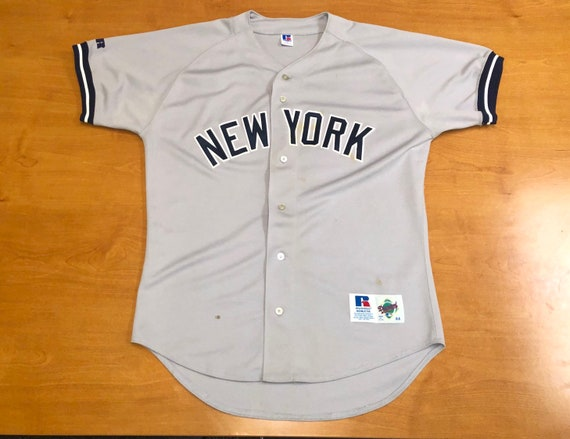the best attitude 7ea15 6e744 Vintage 1992 - 1999 New York Yankees Russell Authentic Jersey paul o'neill  wade boggs mariano rivera bernie williams wells don mattingly mlb