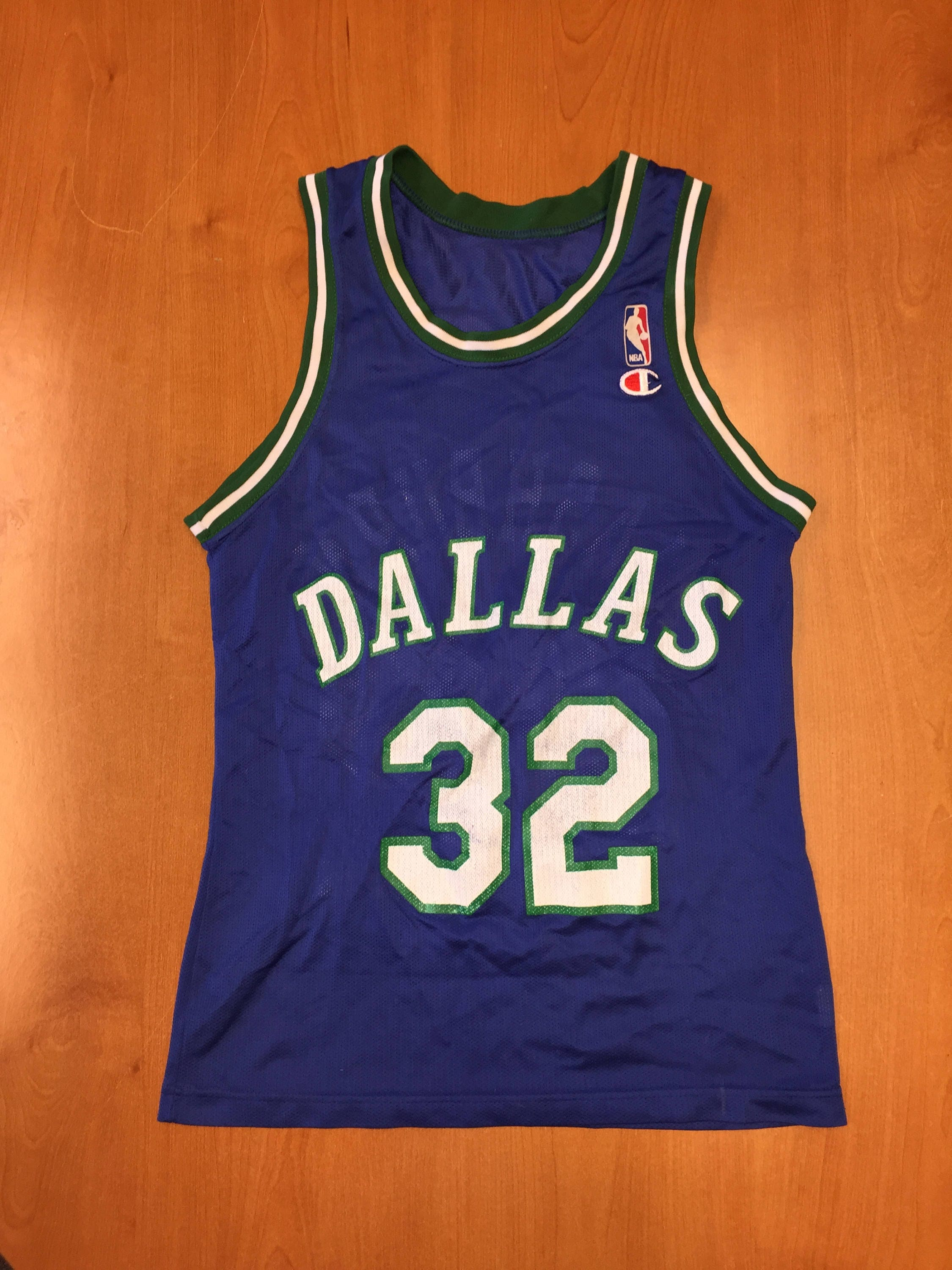 7aceecee5 Vintage 1993 1997 Jamal Mashburn Dallas Mavericks Champion