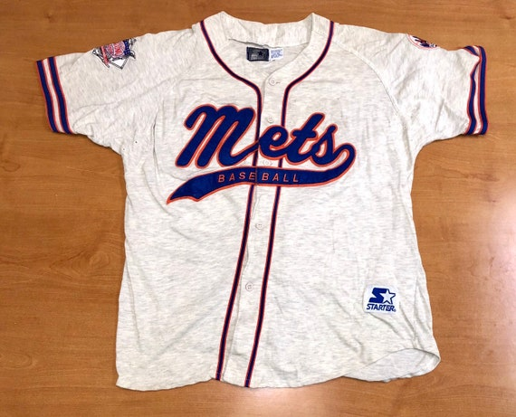 more photos 1f57a 4ecb2 Vintage 1990s New York Mets Starter Script Baseball Jersey XL keith  hernandez edgardo alfonzo darryl strawberry jose reyes noah syndergaard