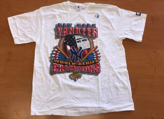 Vintage 1996 New York Yankees World Series Champions T-Shirt  c4df2560f