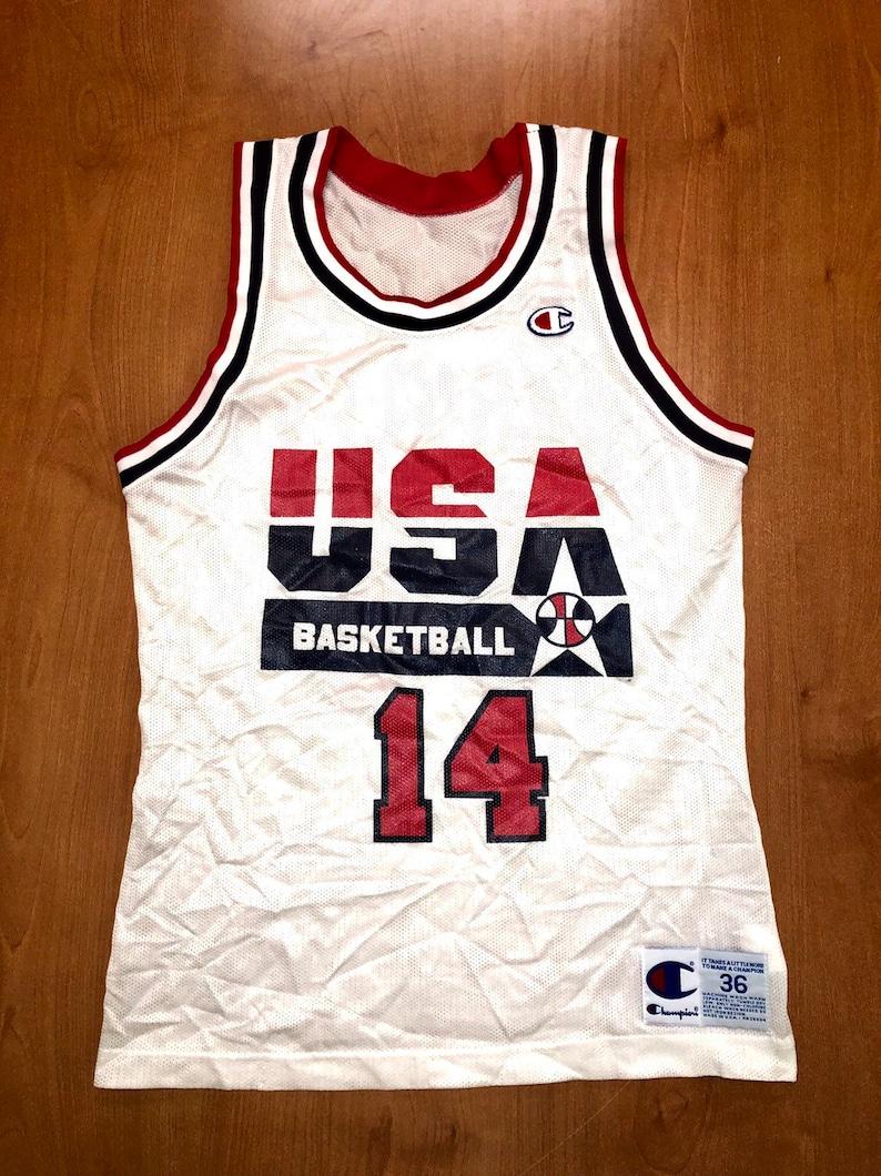 b1ef91301ea1 Vintage 1992 Charles Barkley Dream Team Champion Jersey Size