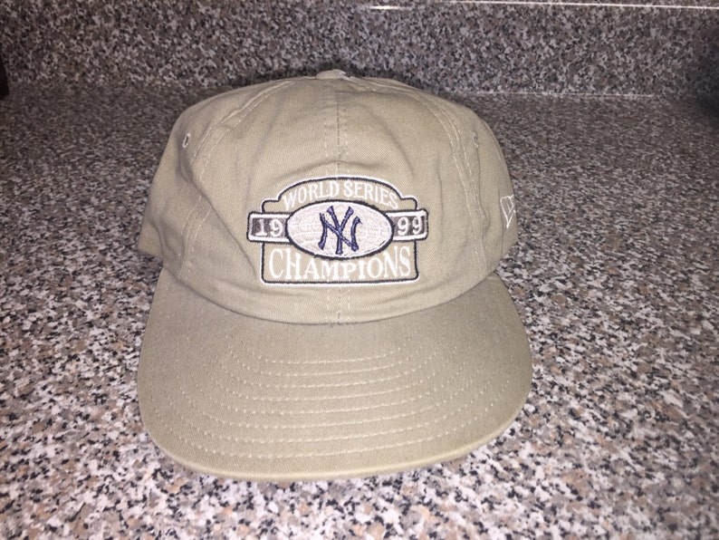 04a79fae752e2 Vintage 1999 New York Yankees World Series Champs Hat snapback