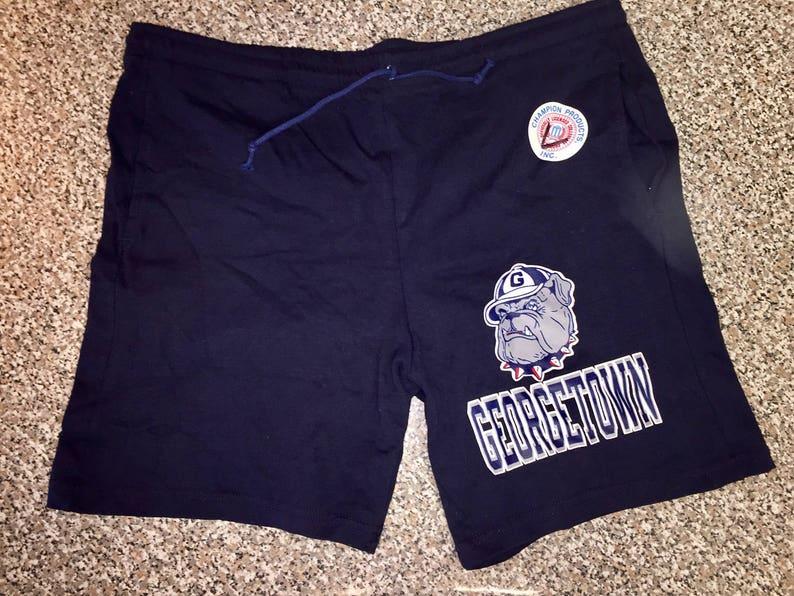 36385741e5 Vintage anni 1990 Georgetown Hoyas Shorts taglia L maglia nba | Etsy