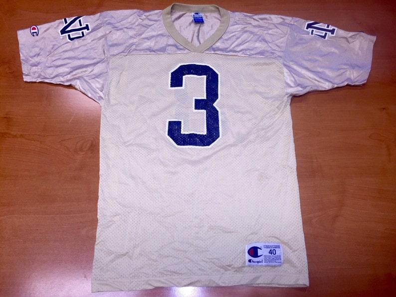 28ccb4acfb9 Vintage 90s Joe Montana Notre Dame Champion Jersey super | Etsy