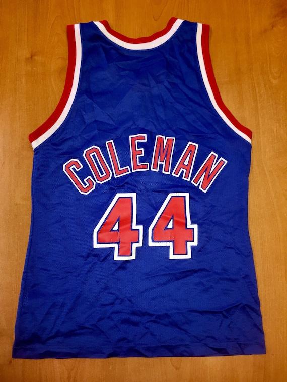 Vintage 1991 1994 Derrick Coleman New Jersey Nets Champion  582115d09
